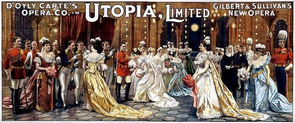 Utopia Ltd Poster