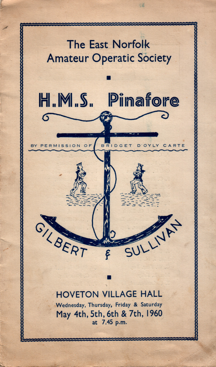 Pinafore Programme